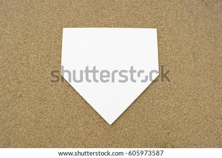 home base home plate #605973587