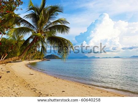 beautiful beach on Samui island. Thailand #60640258