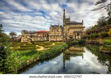 Gardens of the Buçaco Palace, Serra do Buçaco, Mealhada, Portugal #606512747