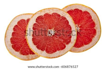 orange isolated on white background closeup #606876527
