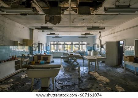 Abandoned city #607161074