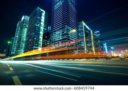 Urban Roads in the city #608459744