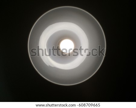 the lamp in the lamp on black background #608709665