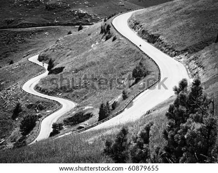Alpine road #60879655