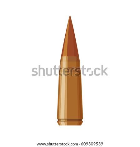 Isolated bullet gun icon vector illustration graphic design #609309539