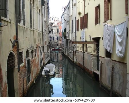 Venice Canal #609429989