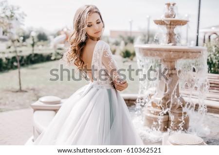 Beautiful bride Royalty-Free Stock Photo #610362521