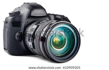 Camera. Royalty-Free Stock Photo #610909205