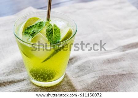 Green Apple Cocktail / Appletini.  #611150072