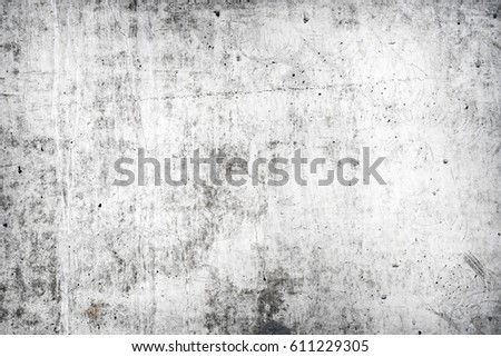 Texture of old white concrete wall for background #611229305