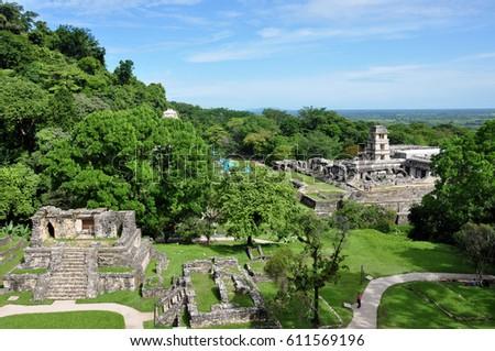 Mexico - Palenque, Maya site #611569196