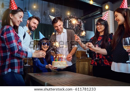 Friends birthday party