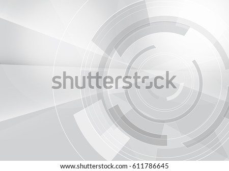 Abstract futuristic technology style,vector illustration.Elegant gray backdrop for business tech presentations.Geometric technology with gear shape for web site and engineering design solutions