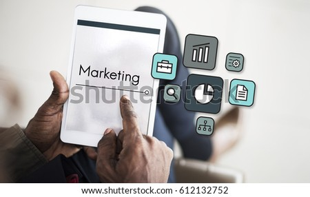 Planning Strategy Marketing Startup Icon #612132752