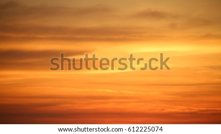 sky. sunset. cloud