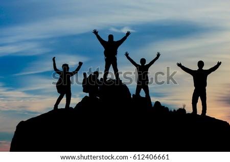 success of the team & successful climbers #612406661