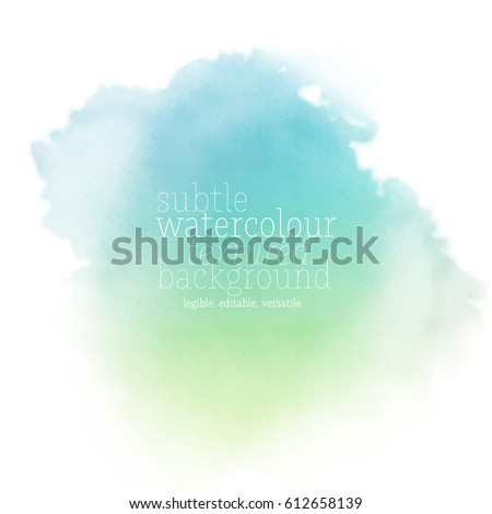sea watercolor background Royalty-Free Stock Photo #612658139