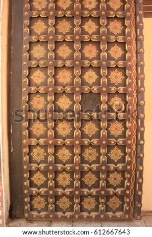 WInd palace, Hawa mahal, India, Jaipur. #612667643