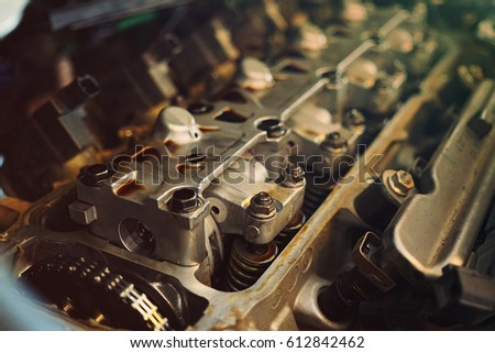 Inside in engine #612842462