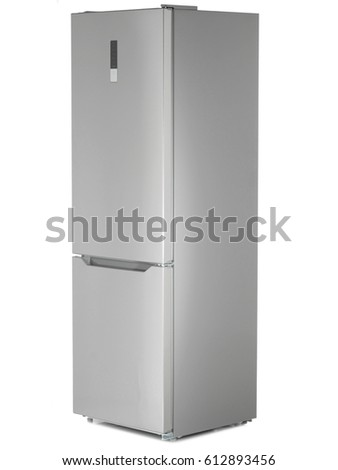 refrigerator on a white background #612893456