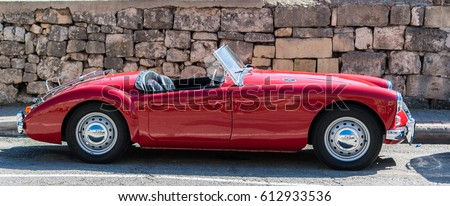 MG MGA Mark II Royalty-Free Stock Photo #612933536