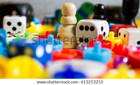 mix of colorful little games for young and old #613253255