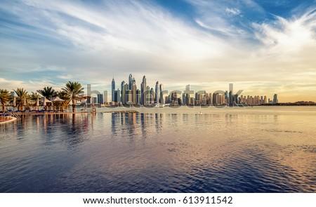 Dubai Marina  Royalty-Free Stock Photo #613911542