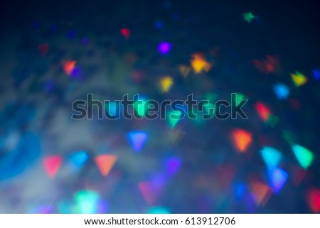 Abstract rainbow bokeh background. Design - Template #613912706