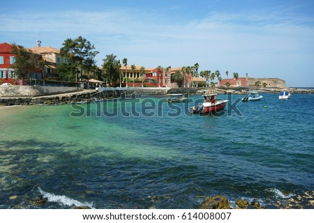 Ile de Goree Island, one of the earliest European settlements in Western Africa, Dakar, Senegal #614008007