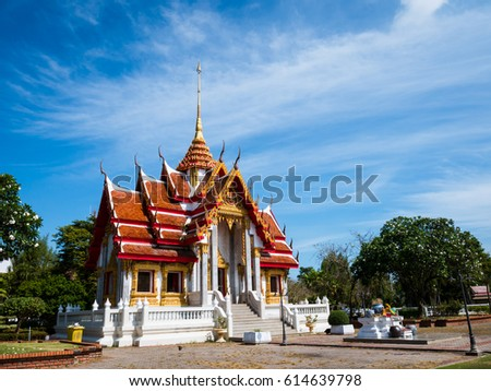Songkhla Temple at Songkhla province South of Thailand (Asia) #614639798