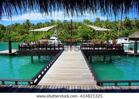 30 may 2017, Reethi Rah resort in Malè, Maldives Island. Holidays with love #614821325