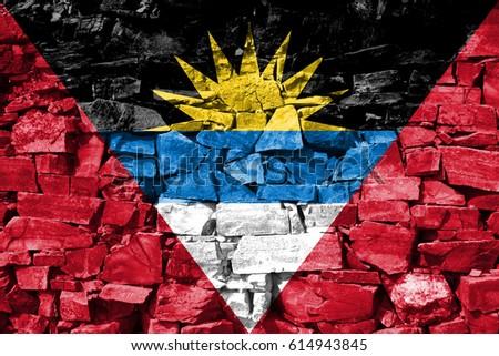 Flag of Antigua and Barbuda #614943845