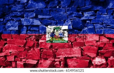 Flag of Haiti #614956121