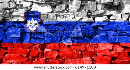 Flag of Slovenia #614971100
