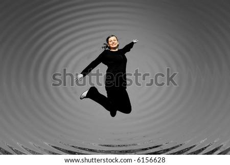 jumping girl #6156628