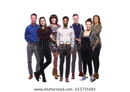 Business group of people Royalty-Free Stock Photo #615731681