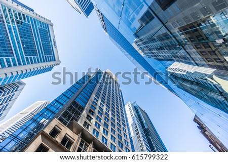 Buildings in Sydney Center #615799322