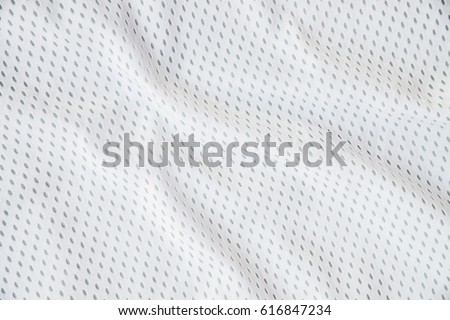 White sports clothing fabric jersey texture #616847234