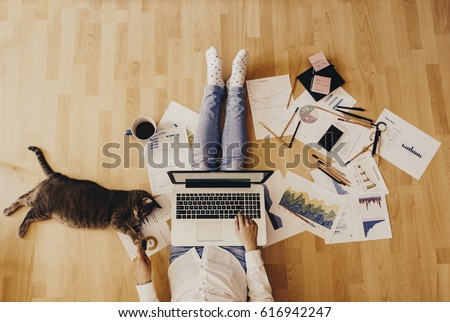 Home workplace #616942247