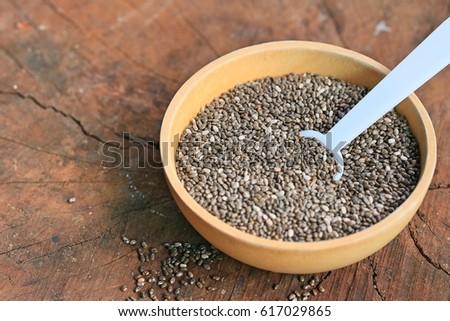 Chia seeds #617029865