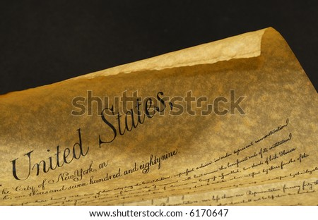 Photo of The Constitution - Parchment - Background #6170647