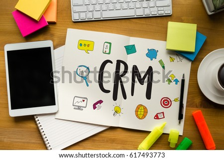 Business Customer CRM Management Analysis Service Concept , Customer relationship management #617493773