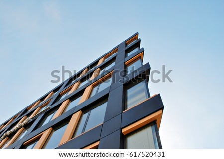 Modern office building Royalty-Free Stock Photo #617520431