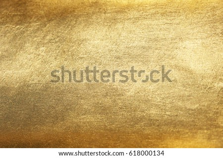 Gold background or texture and gradients shadow. Royalty-Free Stock Photo #618000134