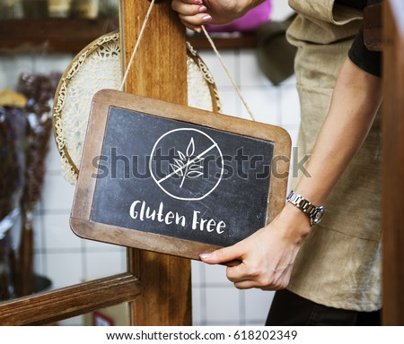 Gluten Free Healthy Lifestyle Concept Royalty-Free Stock Photo #618202349