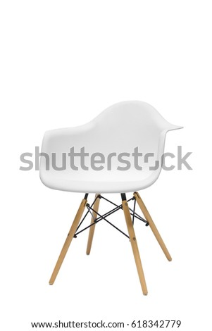 Single interior design isolated chair #618342779