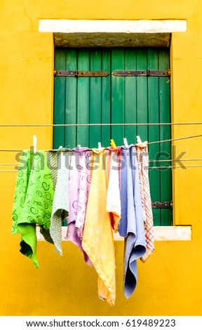 drying clothes in italy - photo #619489223