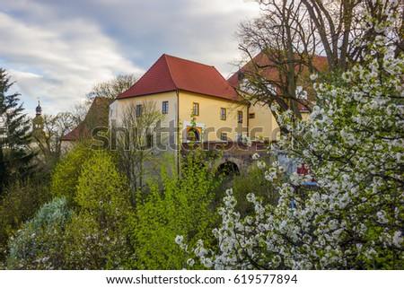 Bechyne, Czech republic. #619577894