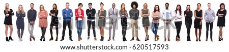 Group of full body people #620517593