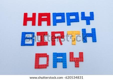 Lego Happy Birthday and Celebration